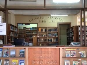 Entrada Biblioteca Municipal Jesús Lara