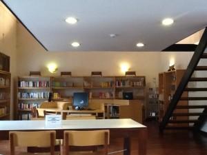 Biblioteca de la Alianza Francesa, puestos de lectura