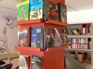 Biblioteca del Cómic, de la BD francesa al cómic americano