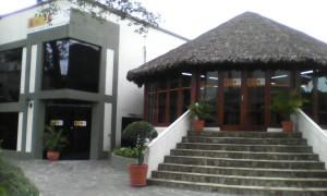Vista exterior de la biblioteca