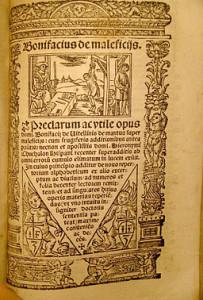 """""""Bonifacius de maleficiis"""" De Wikicommons"""