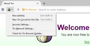 En la configuración de seguridad de Tor recomienda elegirse el nivel Medio