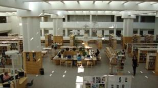 Vista general de la Biblioteca pública de Jyväsklyä