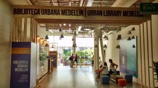 Ingreso a la Biblioteca Urbana Medellín en el #WUF7