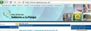 Sitio oficial del Gobierno de La Pampa (Argentina)