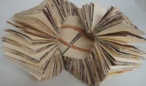"""Albertina Tafolla, """"Molino de Viento"""" Libro de Artista (2013)"""