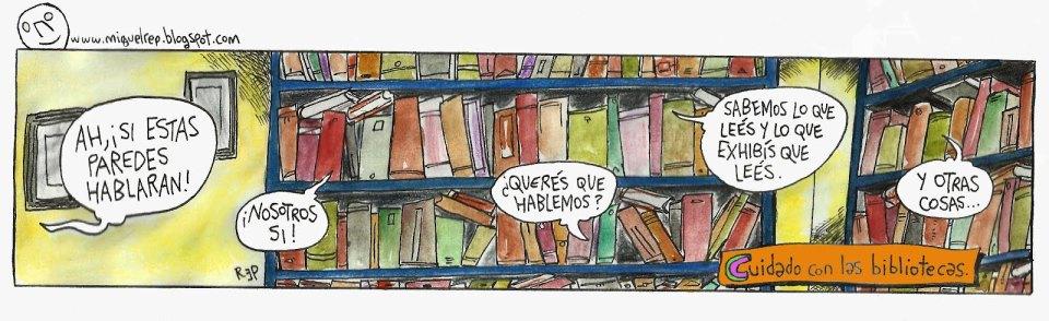 libros paredes