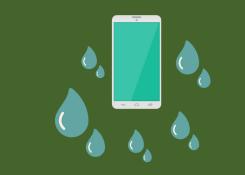 Como ressuscitar seu celular depois que caiu na água