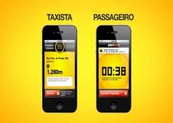 Os aplicativos estão revolucionando a maneira de pedir táxi.