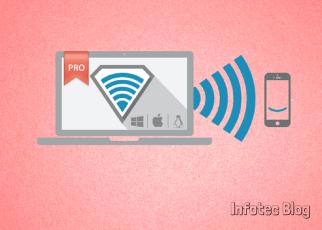 Aplicativo transferência - Aplicativo permite enviar arquivos via Wi-fi sem conexão com computador