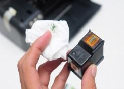 Como descobrir se o cartucho da impressora está queimado.