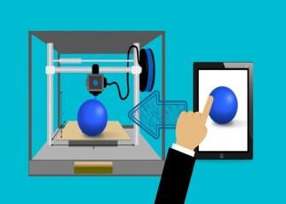 Impressora 3D funcionando