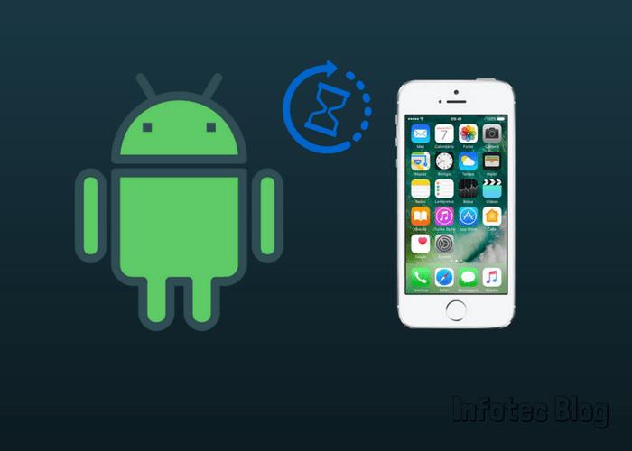 Transferência arquivos - Como transferir arquivos de um dispositivo iOS para Android.