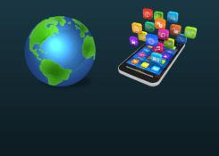 Existem mais de 5 milhões de aplicativos no mundo.