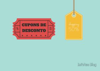 Cupons de desconto - A Febre dos Cupons de Desconto: Infográfico conta a História dos Queridinhos das Compras On-line