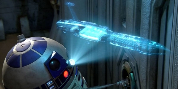 Hologramas Star Wars