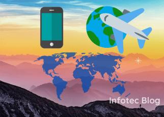 Usar o celular no exterior