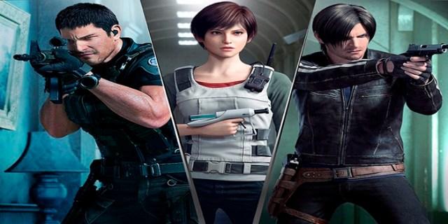 Filme inspirado em jogos Resident Evil