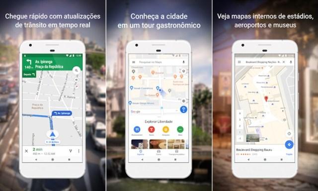 Google Maps - Aplicativos para motoristas