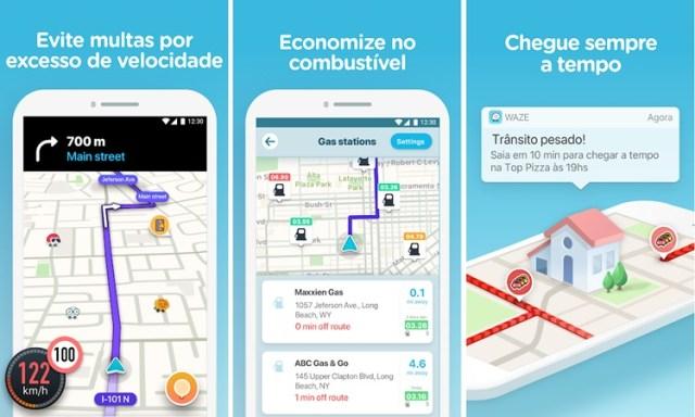 Waze app para motorista