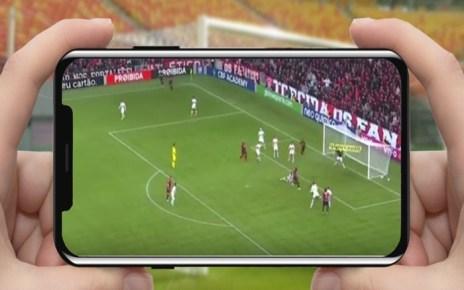 Jogo de Futebol no celular
