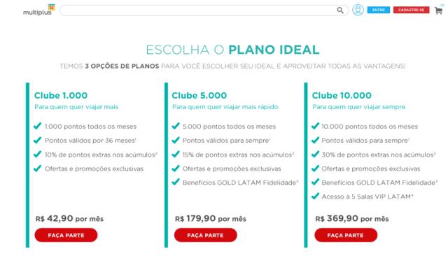 Plano Clube Multiplus