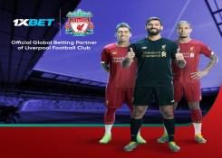 Liverpool FC inicia nova parceria com a 1xBet