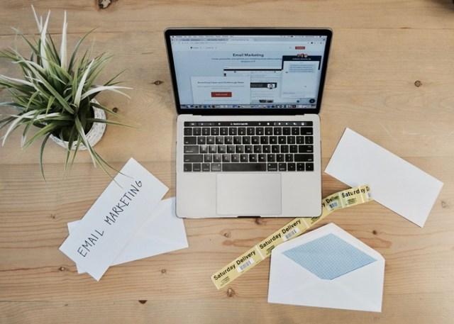 E-mail Marketing no computador
