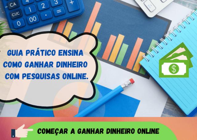 Guia Ensina como Ganhar Dinheiro com Pesquisas Online