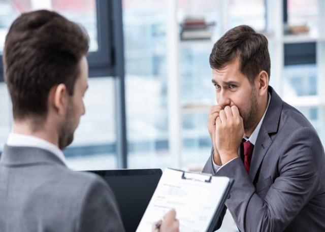 Entrevista de Emprego estressante