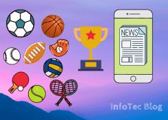 A importância do conteúdo móvel no mundo dos esportes.