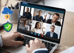 Como garantir a nossa segurança e privacidade em reuniões realizadas por webconferência?