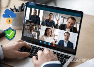 Como se proteger durante as reuniões online