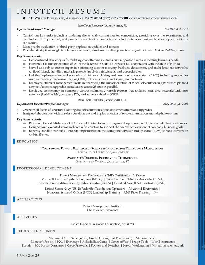 Sample Resumes and Resume Examples - Job-Hunt
