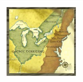 Mapa para material pedagógico