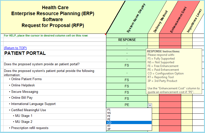 Healthcare Erp Software Evaluation Selection