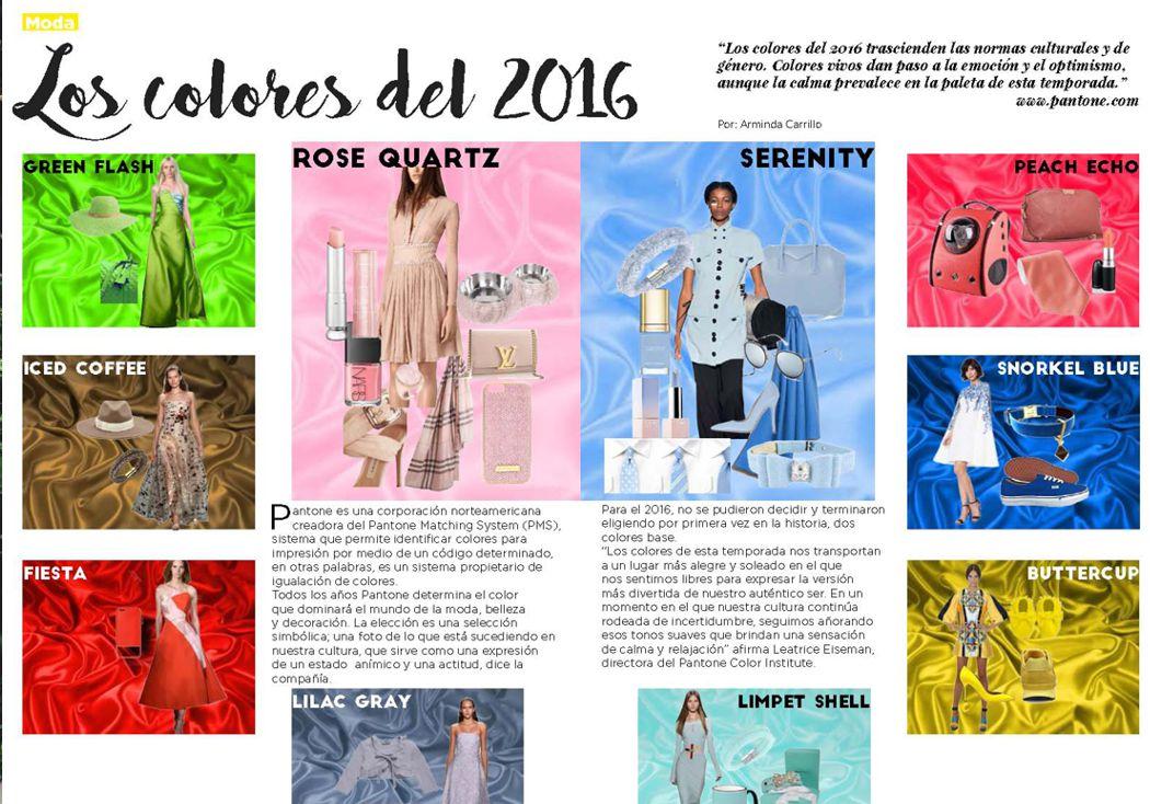 Los colores del 2016
