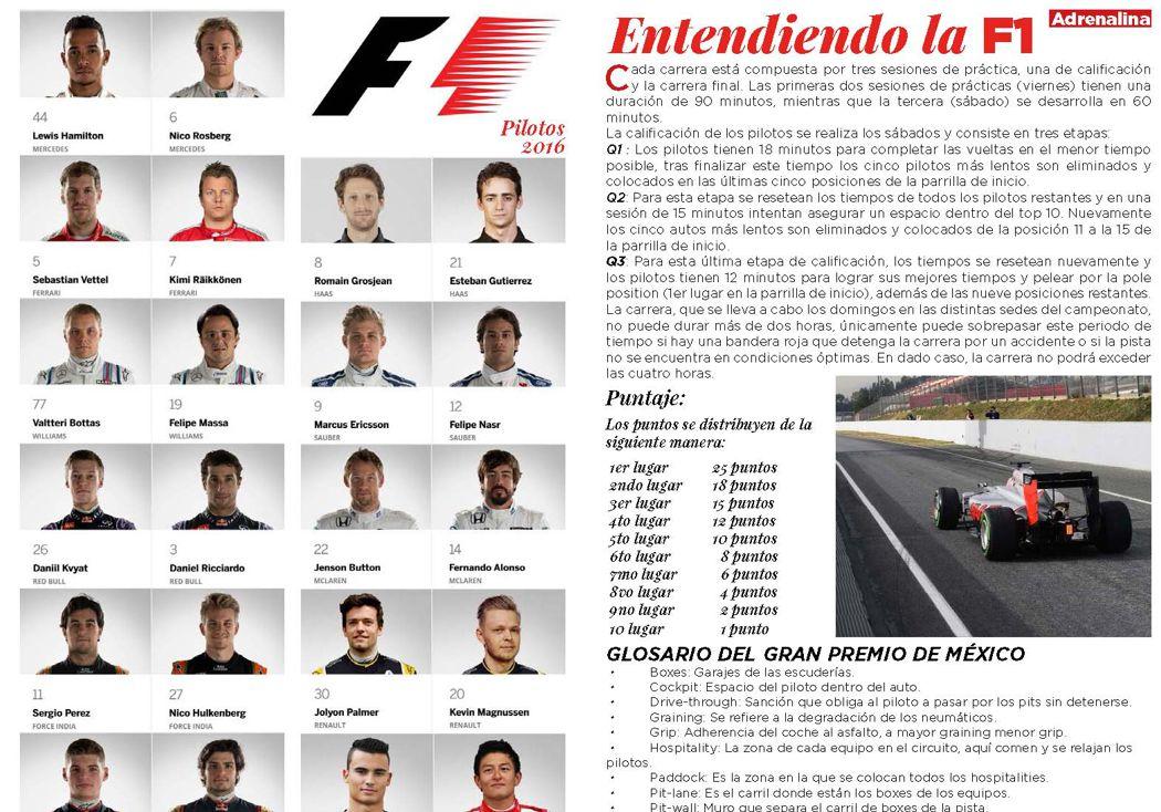 Entendiendo la F1