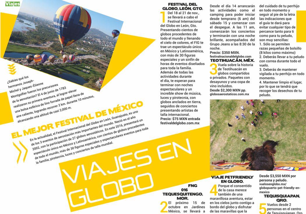 5 lugares ideales para viaje en globo