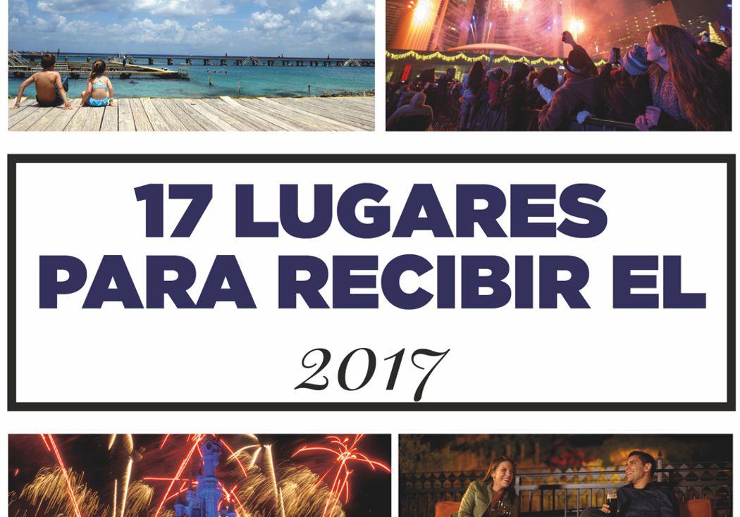 17 Lugares para recibir el 2017