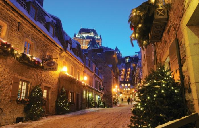 Vive el invierno y las fiestas decembrinas en Quebec