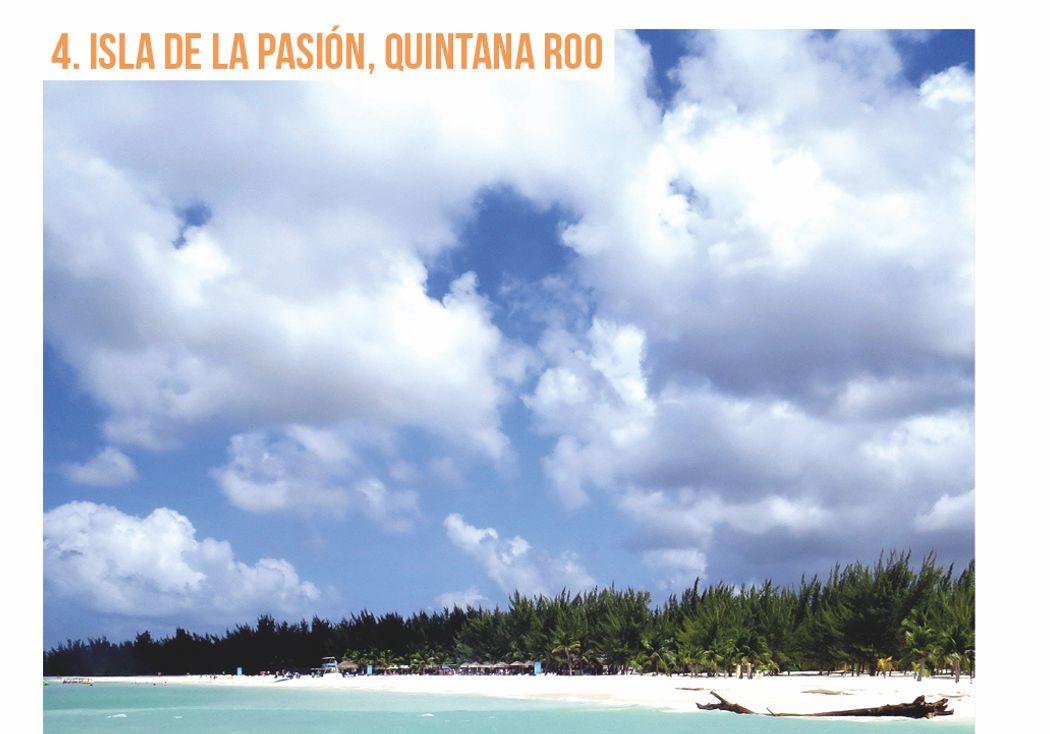 4. Isla de la pasión, Quintana Roo