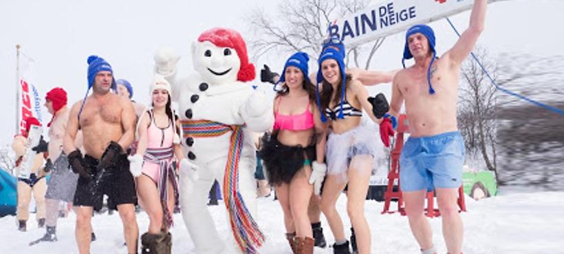 Come, bebe y festeja en el Carnaval de Invierno de Quebec