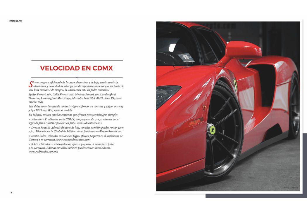 Velocidad en CDMX