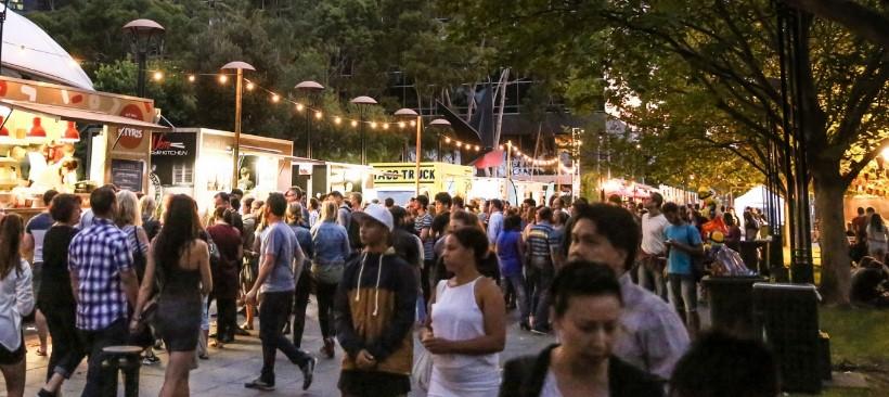 Festival de comida y vino en Melbourne, Australia