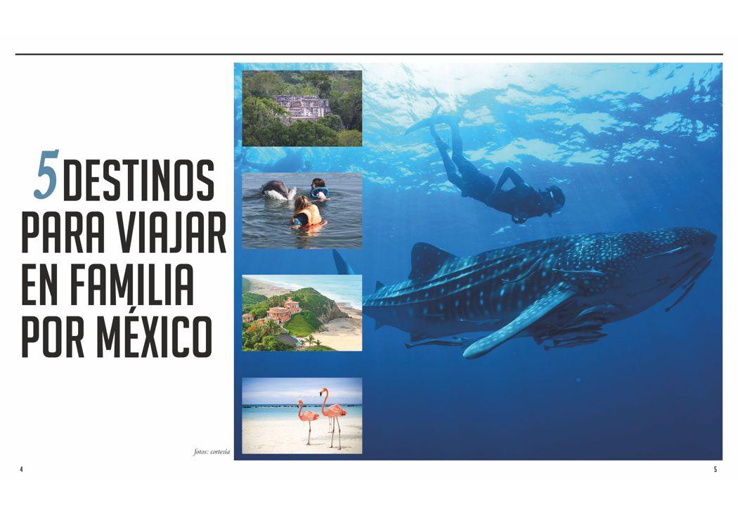 5 destinos para viajar en familia por México