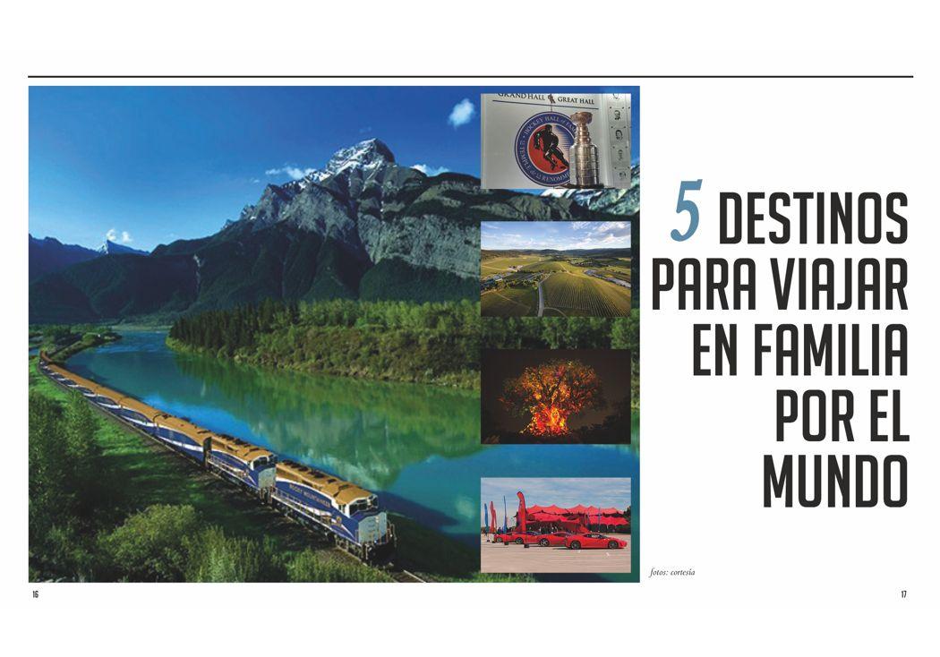 5 destinos para viajar en familia por el mundo