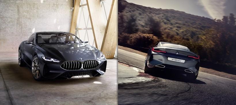 Conoce el BMW Serie 8 Concept