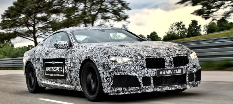 BMW Serie 8 también tendrá modelo M