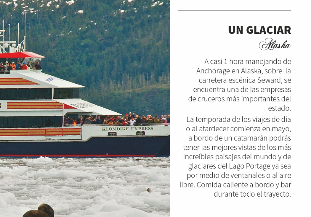 Un Glaciar en Alaska
